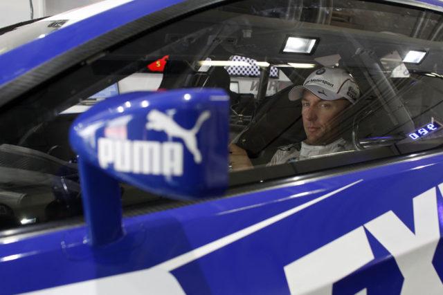 1.Freies Training Joey Hand Lausitzring 2012 Platz im BMW M3 DTM