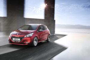 Peugeot 208 GTi Concept auf der AMI Leipzig zu sehen