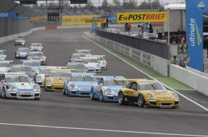 Porsche Carrera Cup 2012 4.Lauf Lausitzring Sean Edwards feiert zweiten Sieg