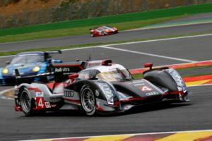 Qualifying 2.Lauf WEC Audi R18 ultra startet aus Reihe eins in die 6h Spa