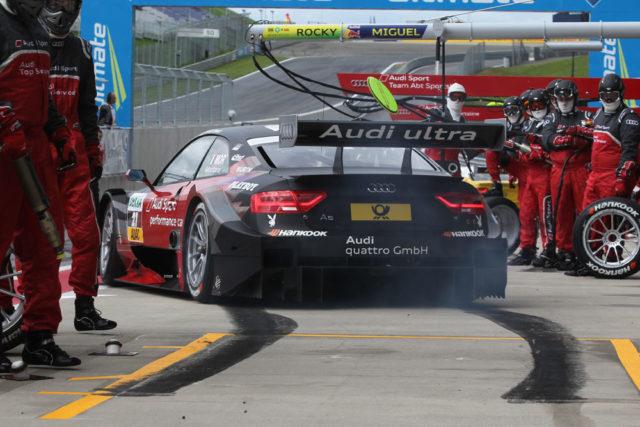 4.Lauf DTM 2012 Edoardo Martara gewinnt in Spielberg