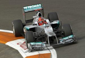 Formel 1  Michael Schumacher Platz 3 im Qualifying