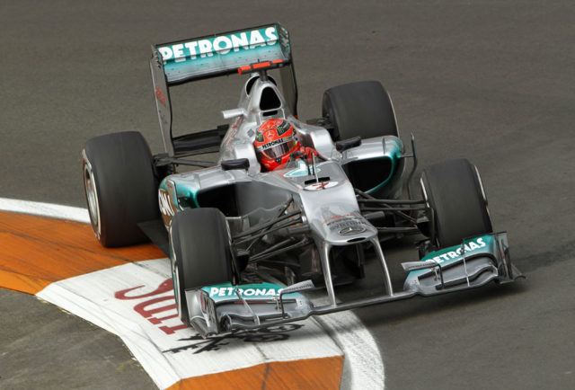 Formel 1 Michael Schumacher harte Strafe nach Unfall