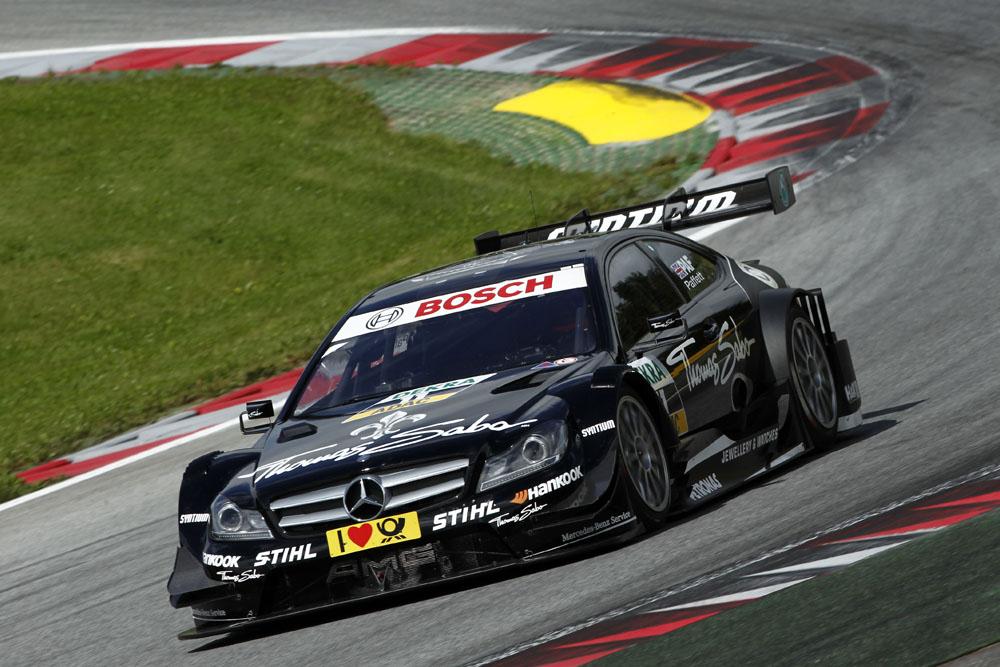 Gary Paffett Pole Postion beim 5. Lauf der DTM Norisring