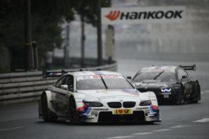 DTM Norisring 2012 BMW mit Martin Tomczyk und Bruno Spengler auf Platz 2 und 3