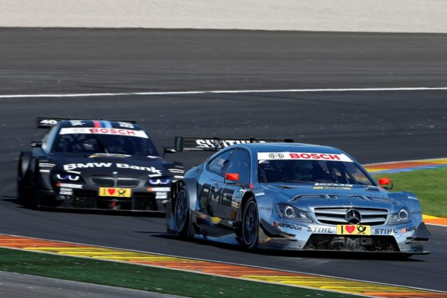 Jamie Green mit Platz 10 bester Mercedes Pilot beim 9.Lauf der DTM in Valencia