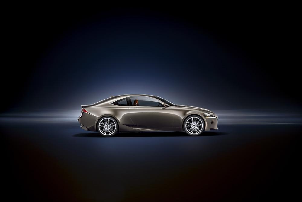 Lexus LF CC Concept Seitenansicht