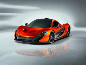 McLaren P1 der neue Supersportler von McLaren auf dem Pariser Autosalon zu sehen