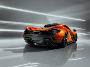 McLaren P1 Designstudie auf dem Pariser Autosalon 2012