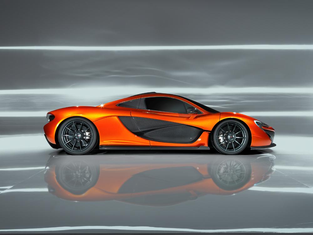 McLaren P1 neuer Super Sportwagen