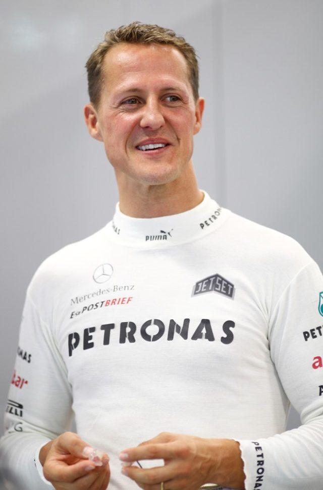 Michael Schumachers beendet seine Karriere