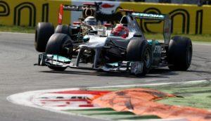 Formel 1 GP von Italien Monza 2012 Michael Schumacher bester deutscher F1 Pilot in Monza
