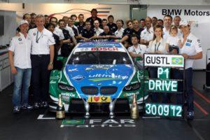 Erster Sieg für Augusto Farfus in der DTM wird gebührend gefeiert