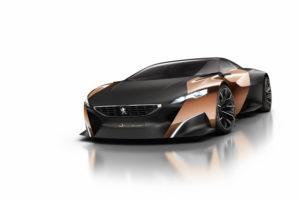 Peugeot Onyx Concept auf dem Pariser Autosalon 2012