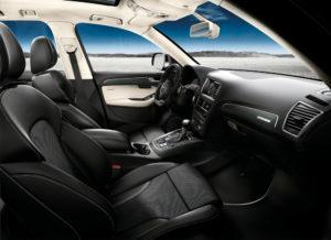 Innenraum des SQ5 TDI Audi exclusive concept
