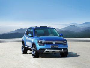 VW Taigun Studie auf der Sao Paulo Motorshow mit Weltpremiere