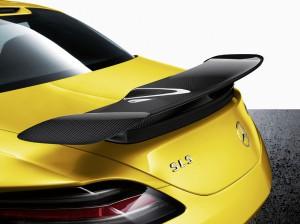SLS AMG Coupe Black Series Aerodynamikpaket mit Carbon Komponenten
