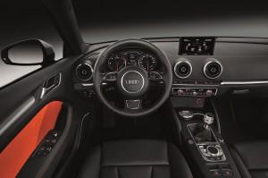 Neuer Audi A3 Sportback Innenausstattung