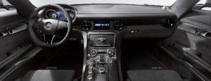 SLS AMG Coupe Black Series Innenraum sehr hochwertig