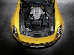 Motor Triebwerk SLS AMG Coupe Black Series