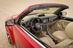Neues Beetlle Cabrio Innenraum