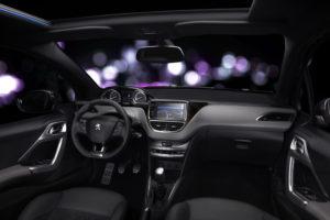 Innenraum Peugeot 208 XY