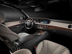 Innenraum der neuen Mercedes S-Klasse