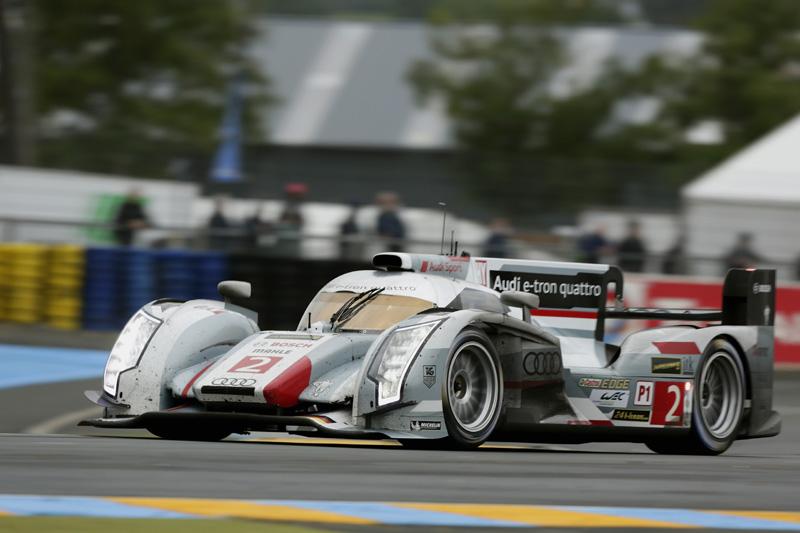 24h Le Mans 2013 Audi R18 e-tron gewinnt erneut das 24 Stunden Rennen
