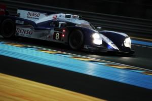 Platz 2 für den Toyota TS030 bei den 24 Stunden von Le Mans