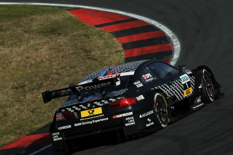 DTM 2013 Bruno Süpengler holt Pole Position in Oschersleben