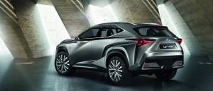 Weltpremiere Lexus LN-FX auf der IAA 2013