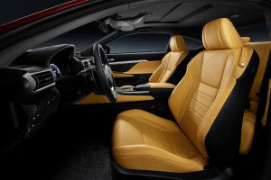 Lexus RC Innenraum