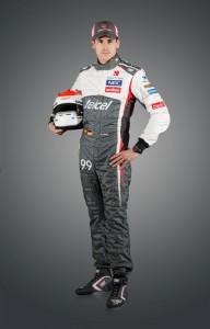 Adrian Sutil mit neuem Rennanzug und Helm