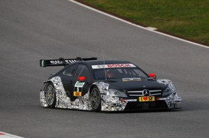 Di Resta bei Testfahrt im DTM Mercedes AMG C-Coupe