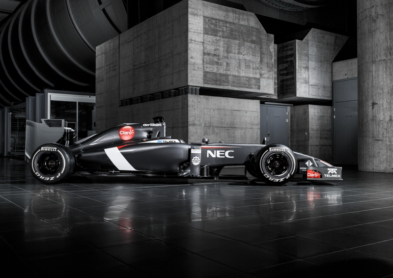 Präsentation des Sauber C33 Ferrari für die Formel 1 Saison 2014
