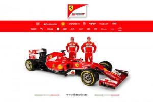 Kimi Raikkönen wird den F14-T als  erster testen