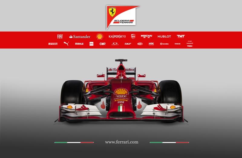 Ferrari F14-T für die F1 Saison 2014