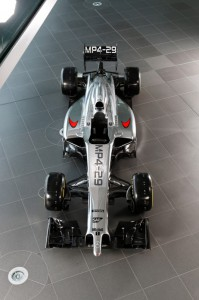 Präsentation des McLaren MP 4-29