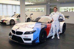 Alessandro Zanardi wird im Z4 GT 3 in der Blancpain GT Sprint Series  fahren