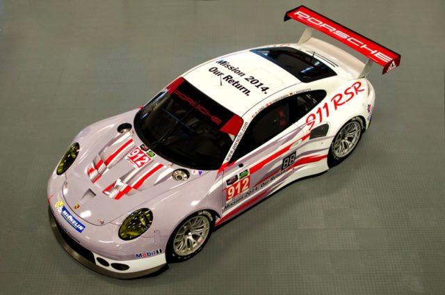 Daytona 2014 mit Porsche 911 RSR