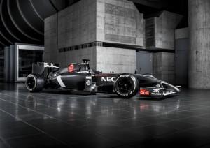 Der neue Sauber C33 Ferrari fü die Saison 2014