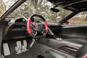 Toyota FT- 1 Innenraum