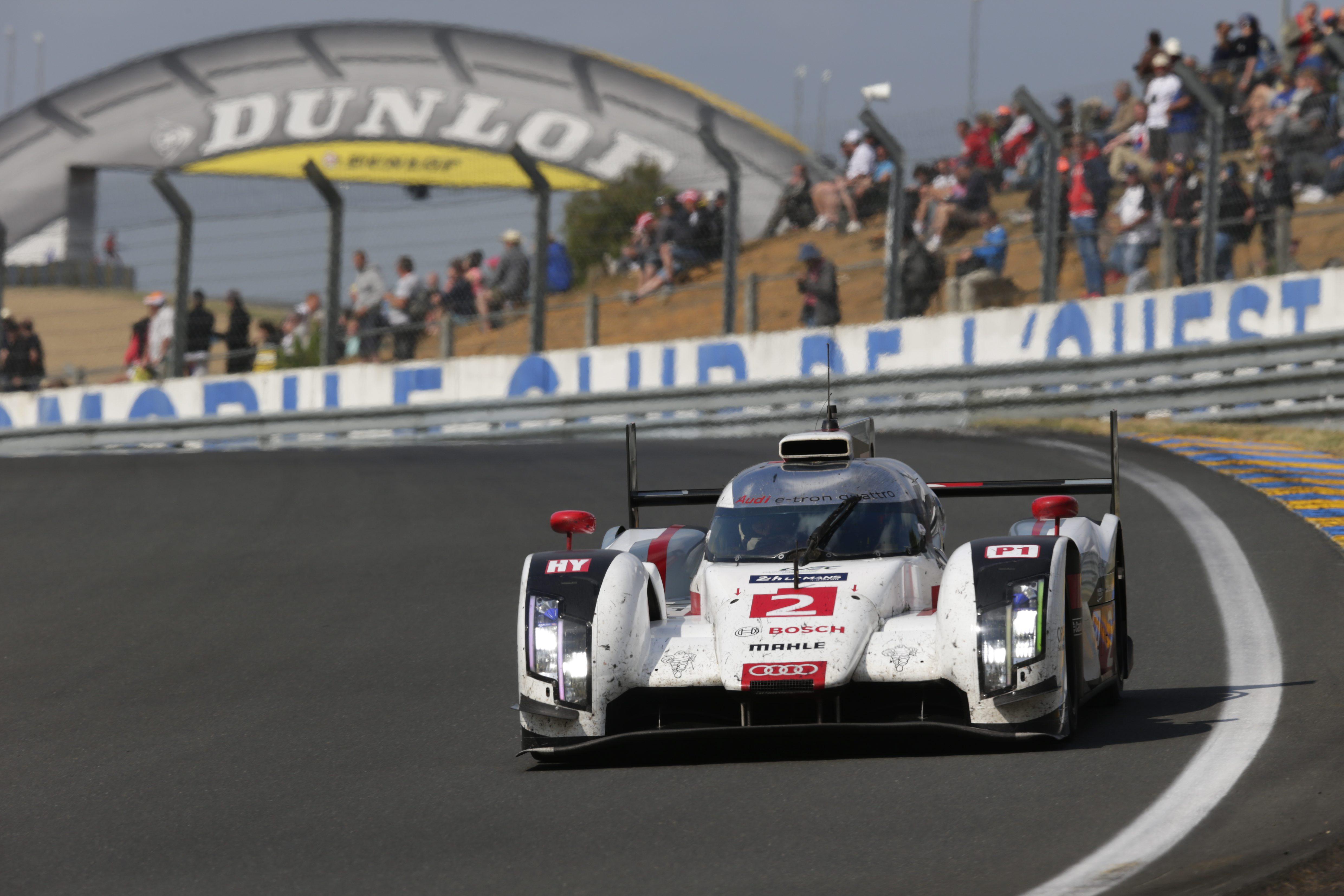 Audi R18 e-tron quattro das Siegerauto in Le Mans