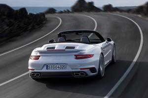 Porsche 911 Turbo Cabriolet Modell 2016