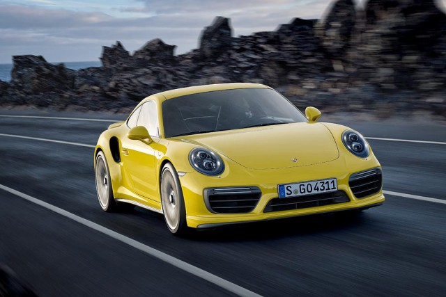 Der neue Porsche 911 Turbo und Turbo S Modell 2016