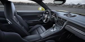 Porsche 911 Turbo und Turbo S Modell 2016 Innenraum