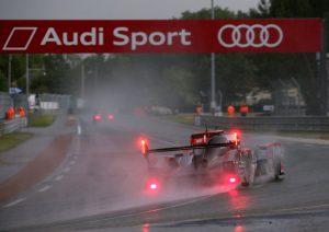 24h Le Mans 2016 beide Audis starten aus Reihe 3