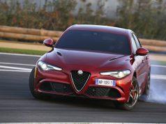 Topmodell Neue Alfa-Romeo Giulia-Quadrifoglio Modell 2016