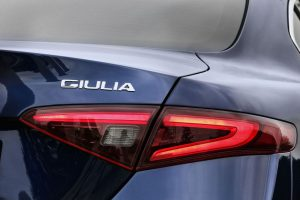 Alfa Romeo Giulia Modell 2016 Modellschriftzug