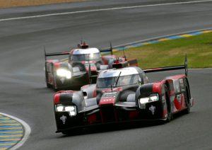 24h Le Mans 2016 Audi au Platz 3 und 4